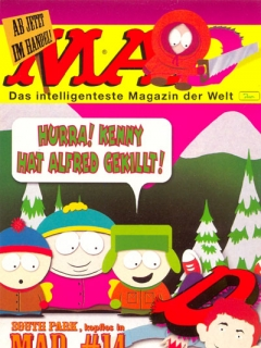 Go to Postcard Promotional: MAD #014 • Germany