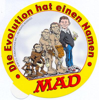 Sticker Promotional: Die Ecolution hat einen Namen • Germany