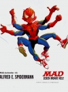 Image of Cardboard Standup Small #3: Alfred E. Spiderman