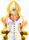 Thumbnail of Cardboard Standup Small #5: Papst Alfred I.