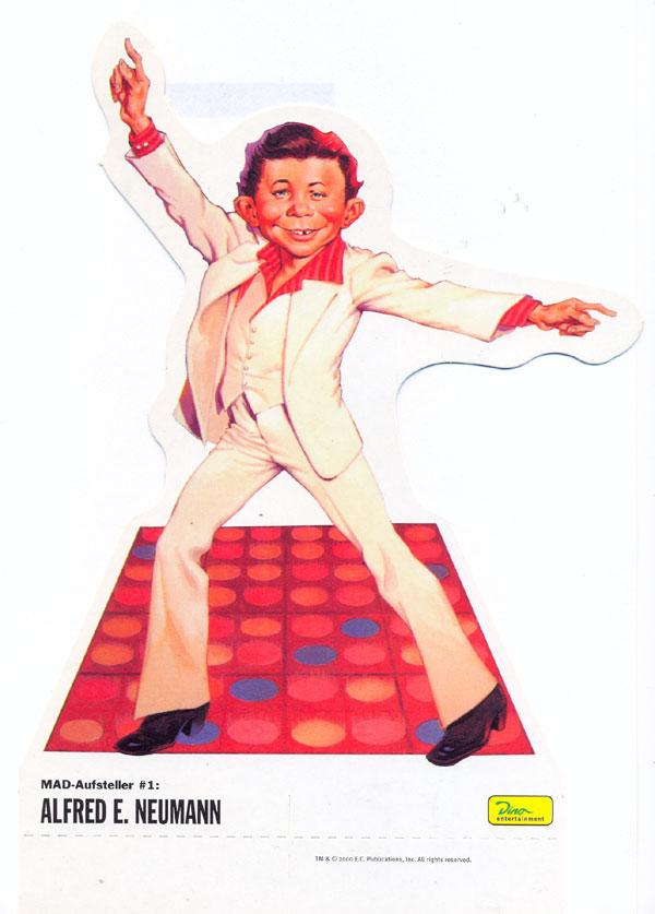 Cardboard Standup Small #1: Alfred E. Neumann • Germany