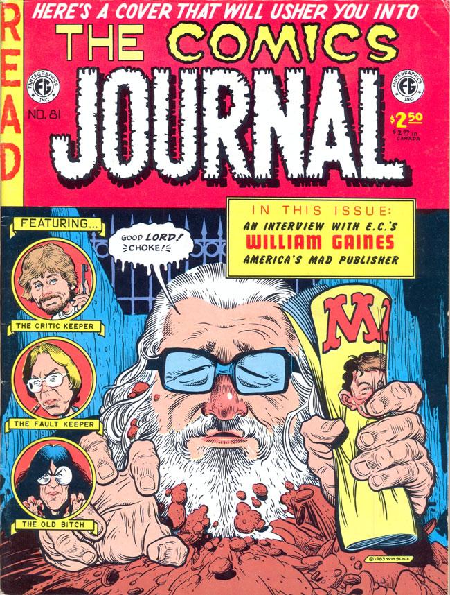 The Comics Journal #81 • USA