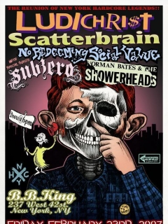 Go to Poster Ludichrist Scatterbrain (Print) • USA