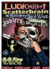 Image of Poster Ludichrist Scatterbrain (Print)
