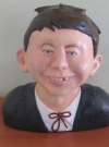 Thumbnail of Alfred E. Neuman hollow-cast polyurethane bust