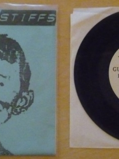 Go to Record 45 RPM Jake & the Stiffs (blue version) • USA