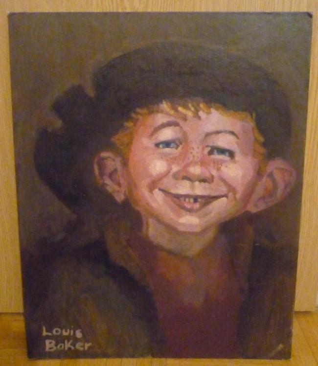 Alfred E. Neuman as Rembrandt Original Art  • USA