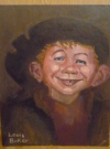 Image of Alfred E. Neuman as Rembrandt Original Art