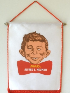 Hanging Banner Alfred E. Neuman • Sweden