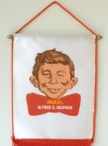 Image of Hanging Banner Alfred E. Neuman