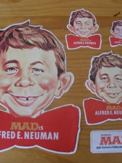 Go to Stickers Alfred E. Neuman Swedish Promotional • Sweden
