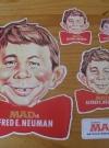 Stickers Alfred E. Neuman Swedish Promotional