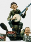 Image of Model Kit Alfred E. Neuman/Feudin Banjo Boy Resin