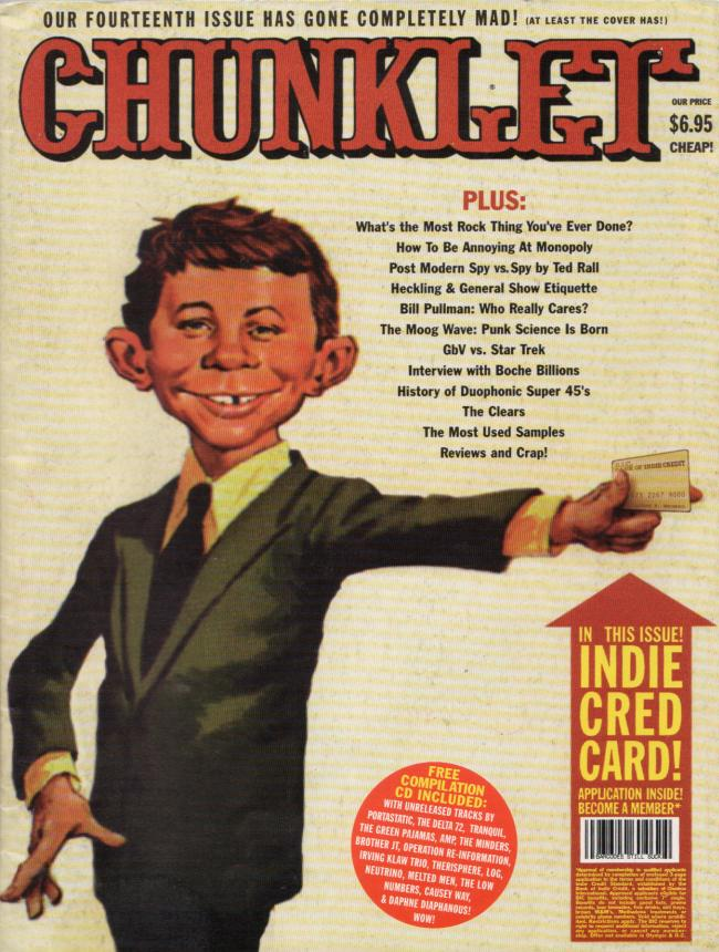Chunklet #14 (MAD Magazine spoof cover) • USA