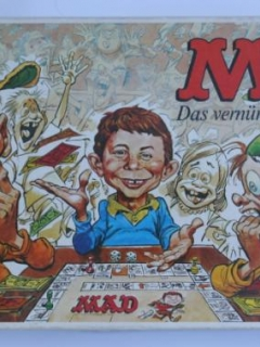 Board game 'The MAD Magazine Game' (first version) • Germany