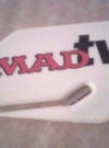Letter Opener with MAD TV Logo