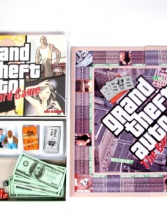 Go to Board Game 'Grand Theft Auto' (Used for a sketch on MAD TV)