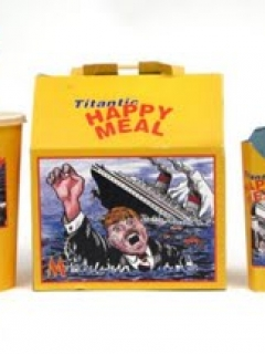 Go to 'Titanic Happy Meal' used for a prop in a MAD TV sketch • USA