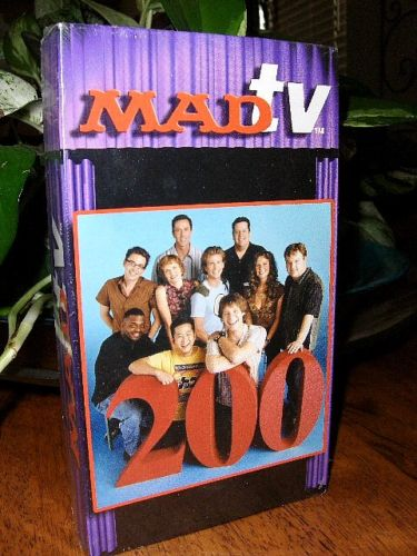 VHS tape MADtv's 200th episode • USA