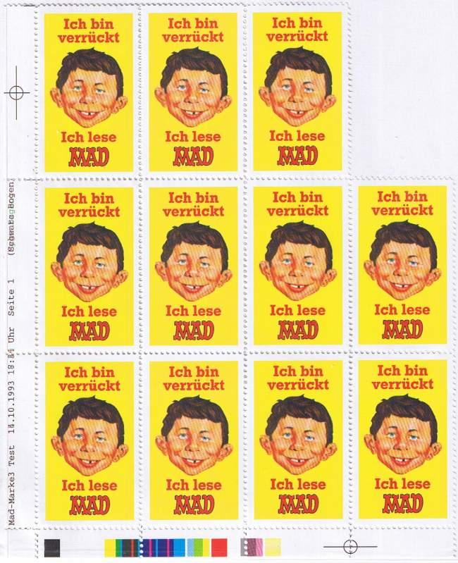 Stamps MAD Magazine (Unpublished) • Germany