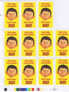 Stamps MAD Magazine (Unpublished) • Germany