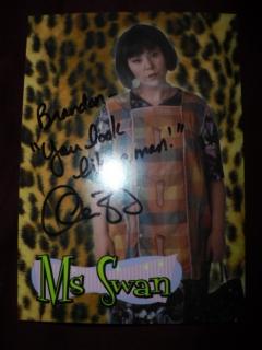 Postcard MAD TV's Ms Swan • USA