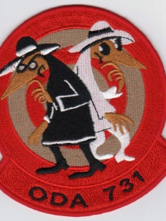 Go to Patch Special Forces ODA 731 Intelligence Spy vs Spy • USA