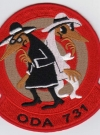 Image of Patch Special Forces ODA 731 Intelligence Spy vs Spy