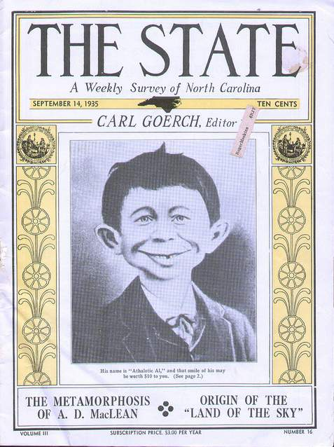 'The State' Magazine with AEN Cover • USA