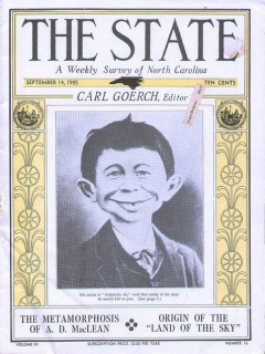 Go to 'The State' Magazine with AEN Cover • USA