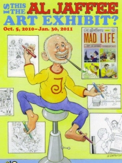 Go to Postcard Al Jaffee Art Exhibit • USA
