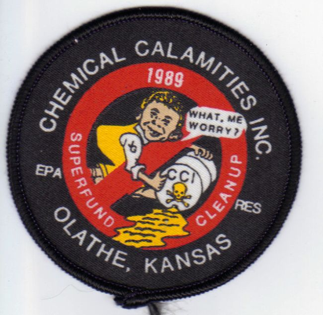 Patch Chemical Calamities Alfred E. Neuman • USA