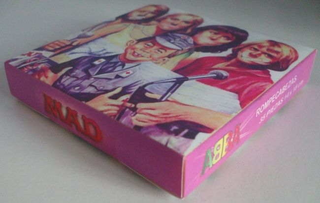 Jigsaw MAD Magazine (ABBA) • Argentina