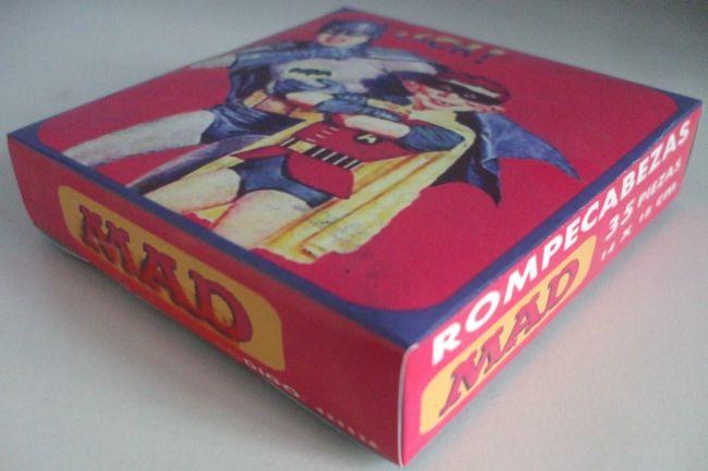 Jigsaw MAD Magazine (Batman & Robin) • Argentina