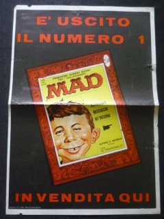 Go to Poster Promotional for Italy MAD #1 First Series • Italy