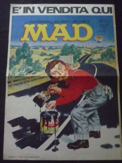 Poster Promotional for Italy MAD #8 First Series • Italy