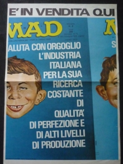 Go to Poster Promotional for Italy MAD #6 First Series • Italy