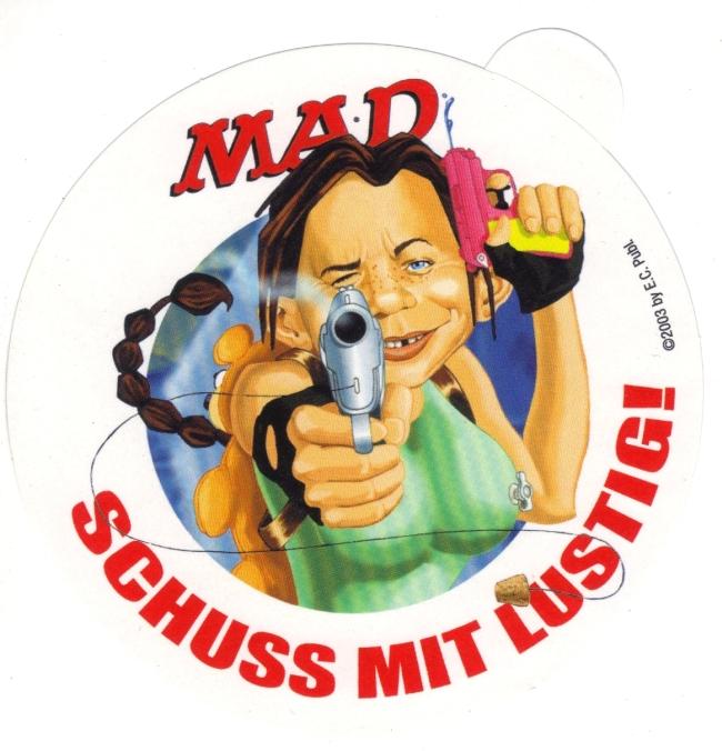 Sticker 'Schluss mit lustig' • Germany
