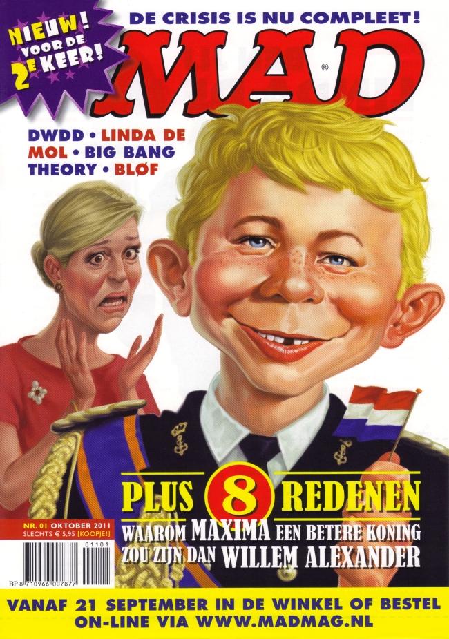 Flyer for Dutch MAD #1 Promotional • Netherlands