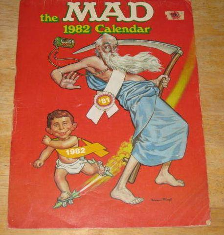 1982 Calendar MAD Magazine • Australia