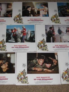 Set of 8 Different Up The Academy Movie Lobby Cards • USA