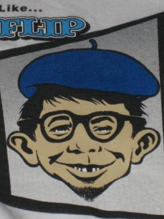 Go to T-Shirt Alfred E Neuman FLIP Skateboards Promotional • USA