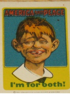 Go to Decal Pre-MAD Alfred E. Neuman America For Peace • USA