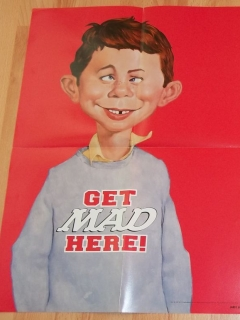 Go to Poster 'Get it here' with Alfred E. Neuman • USA