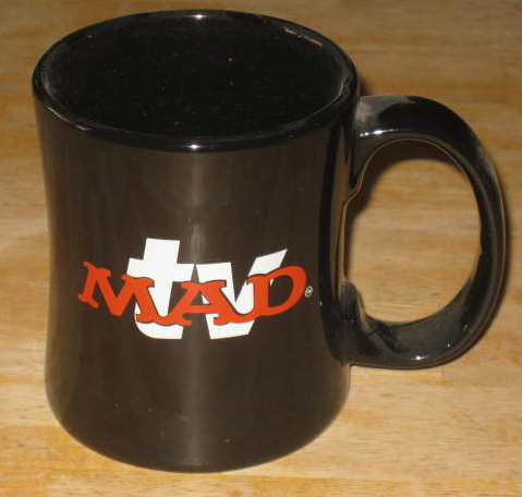 Coffee Mug MAD TV Promotional • USA