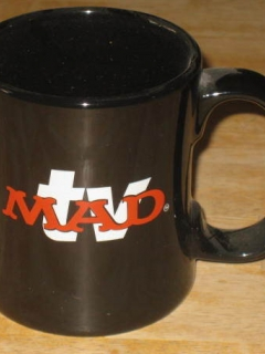 Go to Coffee Mug MAD TV Promotional