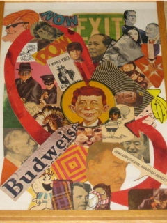 Go to Folk Art with Alfred E Neuman 1960's • USA