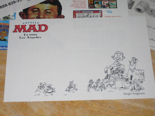 CD-Rom 'Totally MAD' Promotional Items • USA