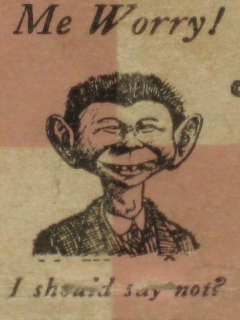 Go to Matchbook Cover Alfred E. Neuman • USA