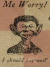 Image of Matchbook Cover Alfred E. Neuman